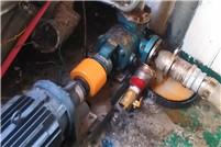 天津远东泵业NYPbeplay官网网址泵输送玻璃胶现场使用视频
