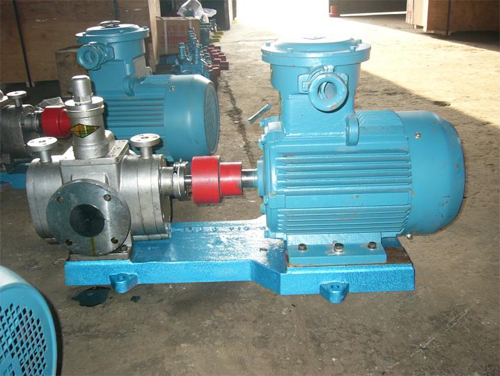 YCB保温圆弧齿轮泵