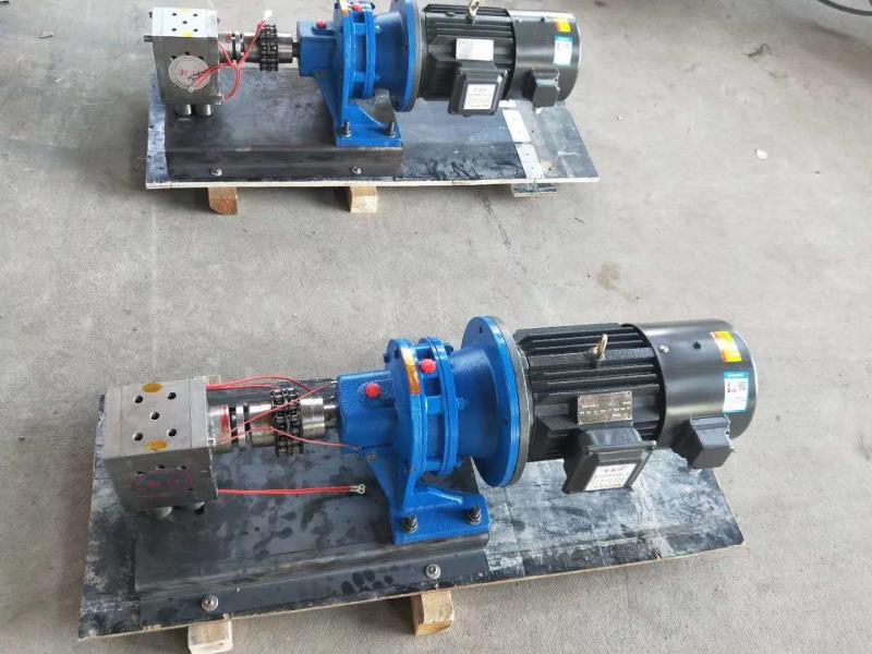 熔体泵 熔喷布计量 口罩机必备 无纺布专用泵
